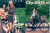 Vogue Elite Dames Transportfiets N3 Groen 2018