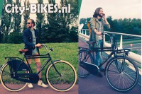 Vogue Elite Heren Transportfiets N3 Mat-Bruin 2018