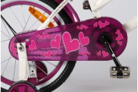 Volare Heartbeat Cruiser Wit-Paars 16 inch