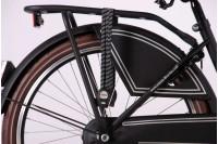 Volare Omafiets Mat-zwart 24 inch