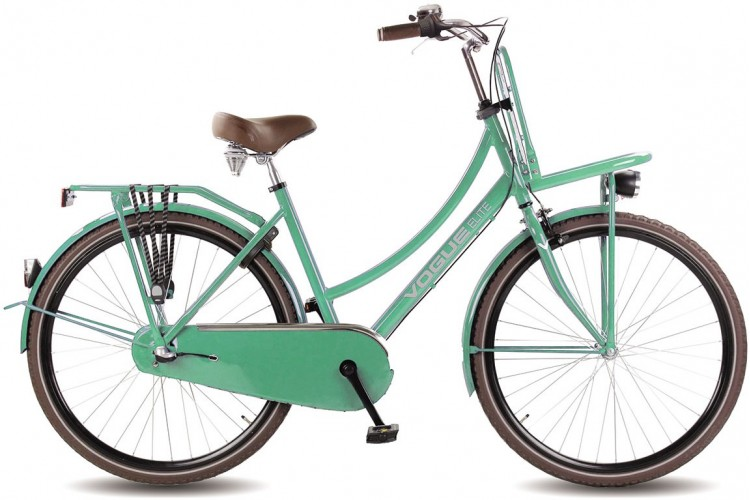 Vogue Elite Dames Transportfiets N3 Mint-Groen 2018
