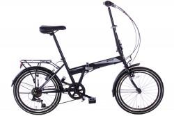 Spirit Vouwfiets Travel 6-speed Mat-Zwart